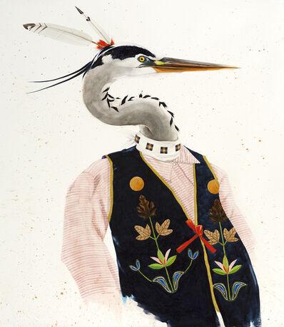 Scott Kelley (b. 1963), 'Heron'