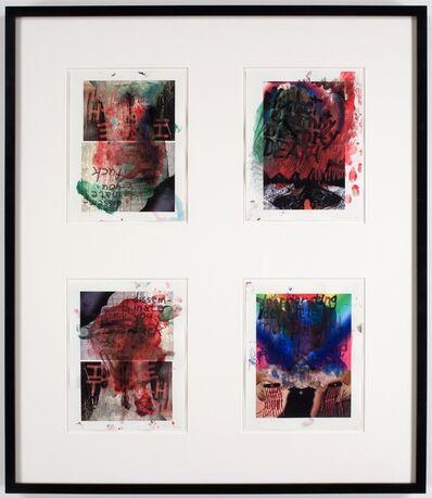 Sterling Ruby, 'Finger Version/DYF, ISTY, DIMIOSR, BEID', 2006