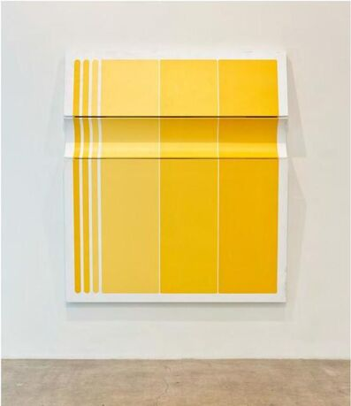 Robert William Moreland, 'Untitled Tri-Toned Yellow II', 2020