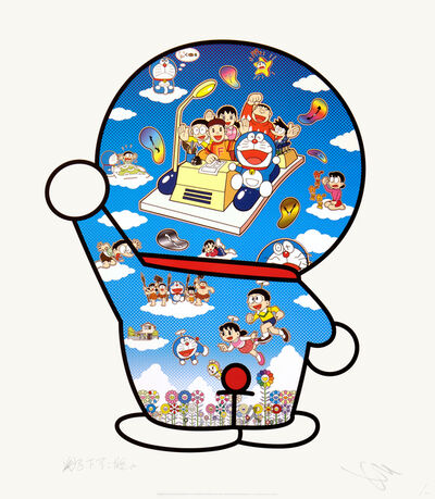 Takashi Murakami, 'Doraemon, Let's Go Beyond These Dimensions on a Time Machine with Master Fujiko F Fujio!', 202