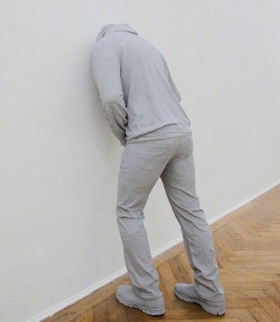 Mark Jenkins, 'Head in the wall', 2014