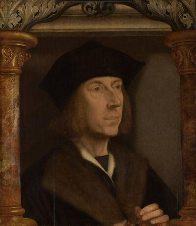Quentin Metsys (Quinten Massys), 'Portret van een Man met rozenkrans (Portrait of a Man with a Rosary)', c. 1515-1520