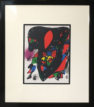 Joan Miró, 'Joan Miro Lithographies IV: Cover Page', 1972
