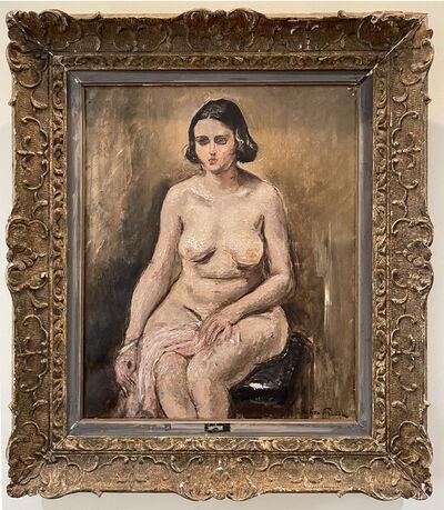 Achille Emile Othon Friesz, 'Modele nu assis  - Seated nude model ', 1920-1940