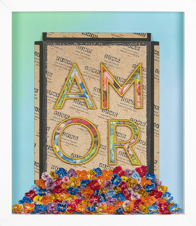 Stephen Wilson, 'AMOR Overflowing', 2018