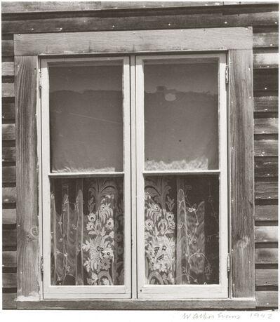 Walker Evans, 'Window, Mystic, Connecticut', 1942