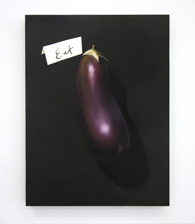 Anna Weyant, 'Eggplant (or Eat a Dick) ', 2019