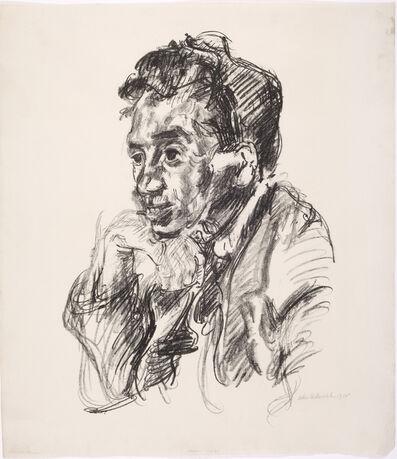 Oskar Kokoschka, 'Portrait of Walter Hasenclever', 1918