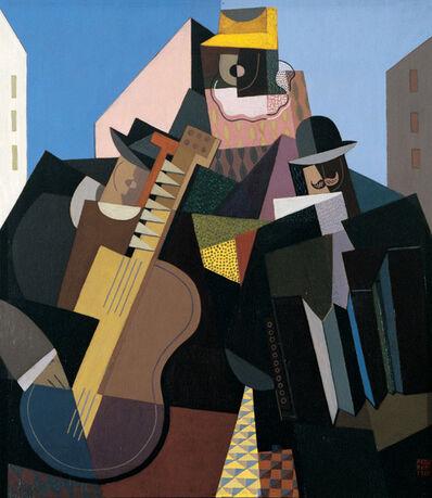 Emilio Pettoruti, 'La canción del pueblo o La Chanson du peuple', 1927