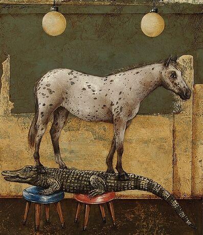 Tyson Grumm, 'Horseback Massage', 2014