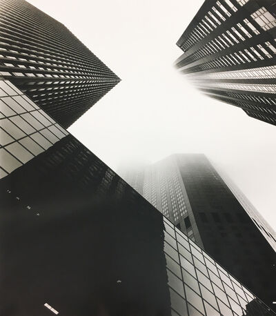 Alex Fradkin, 'Monoliths in Fog #3: Chicago, IL'