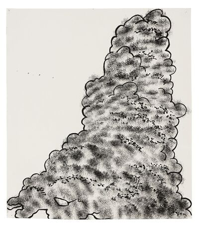 Mike Kelley, 'Garbage Drawing No. 10', 1988