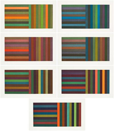 Sol LeWitt, 'Horizontal Color Bands and Vertical Color Bands', 1991