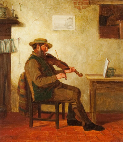 Charles Caryl Coleman, 'The Violin Player'