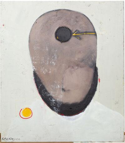 Endale Desalegn, 'Meditative Face II ', 2015