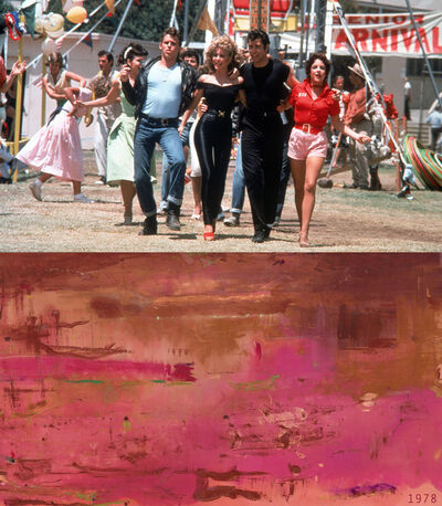 Bonnie Lautenberg, '1978, Grease - Helen Frankenthaler Dream, Walk, Red', 2020