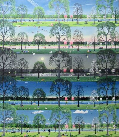 Emma Haworth, 'From one day to another (Spring Park)', 2019