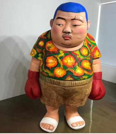 Kim Won Geun [김원근], 'Angry Boxer', 2019