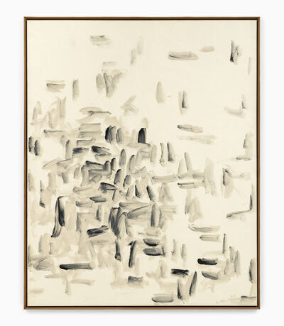Lee Ufan, 'With Winds S8801-41', 1988