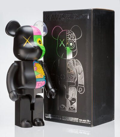 KAWS, 'Dissected Companion 1000% (Black)', 2010