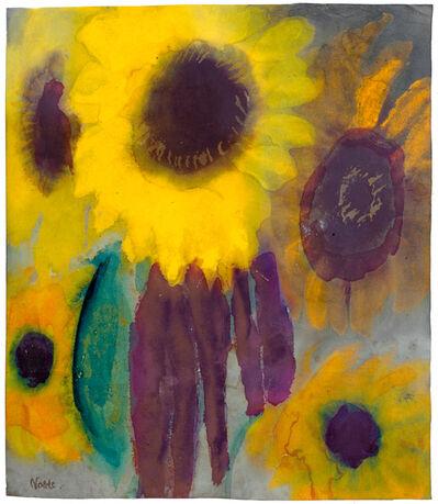 Emil Nolde, 'Sonnenblumen', 1930-1940