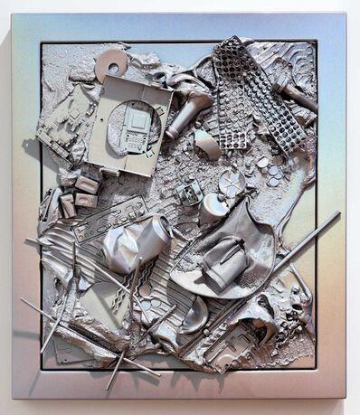 Anselm Reyle, 'Mystic Silver', 2009