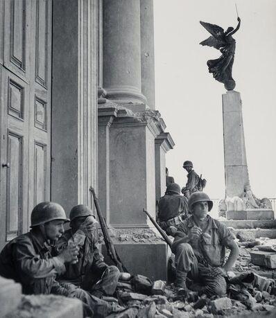 Robert Capa, 'Italy, Near the Cathedral Maria Santissima Assunta, Triona, Sicily', 1943
