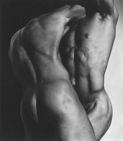 Herb Ritts, 'Wrestling Torsos, Hollywood', 1987