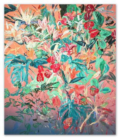 "Magnus Sodamin, '""Untitled"" | No. 1 - Monsterosa y Anthurium', 2017"