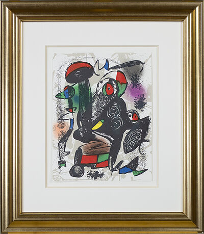 "Joan Miró, 'Lithographie Originale III from ""Miro Lithographs IV, Maeght Publisher""', 1981"