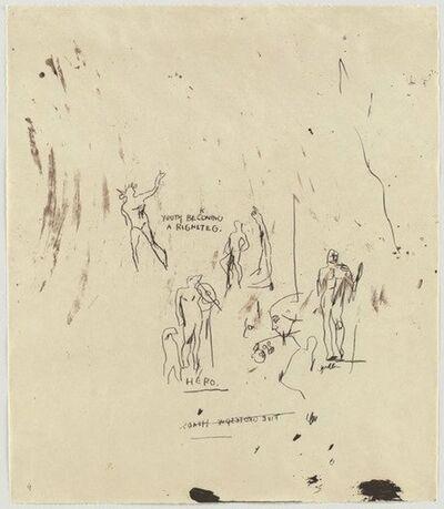 Jean-Michel Basquiat, 'Untitled 5 (from Leonardo)', 1982