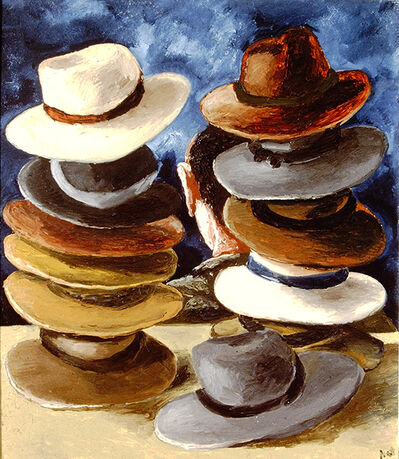 Natalya Nesterova, 'Hats (1)', 1996