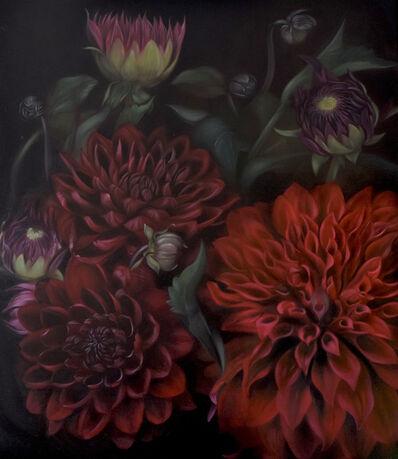 Anja Black, 'Adene's Dahlias', 2020