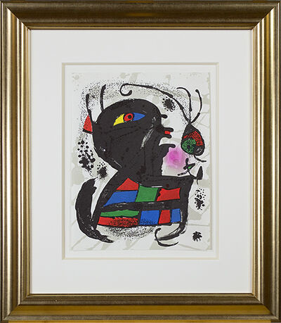"Joan Miró, 'Original Lithograph V from ""Miro Lithographs III, Maeght Publisher""', 1977"