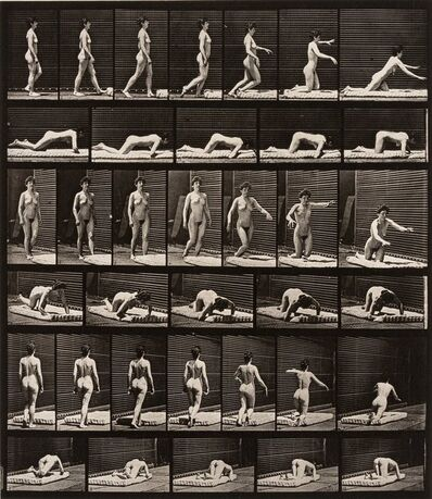 Eadweard Muybridge, 'Animal Locomotion, Plate 272 (Female Nude)', 1887