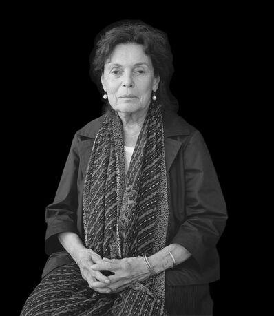 Mariana Cook, 'Pat Steir, New York City, 26 June 2015'
