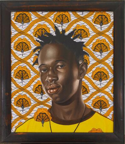 Kehinde Wiley, 'Ibrahima Sacho II', 2007