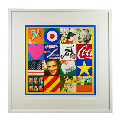 Peter Blake, 'Sources of Pop Art III', 2006-7