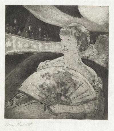 Mary Cassatt, 'In the Opera Box (No. 3)', Circa 1880