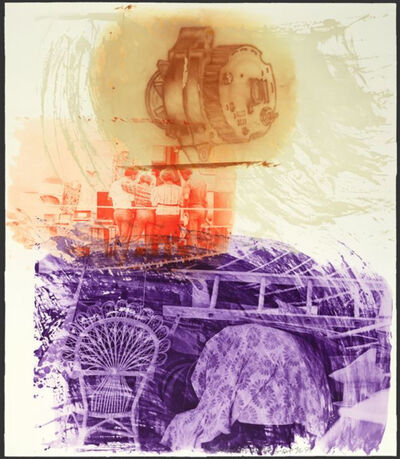 Robert Rauschenberg, 'Back Up (from Ground Rules)', 1997