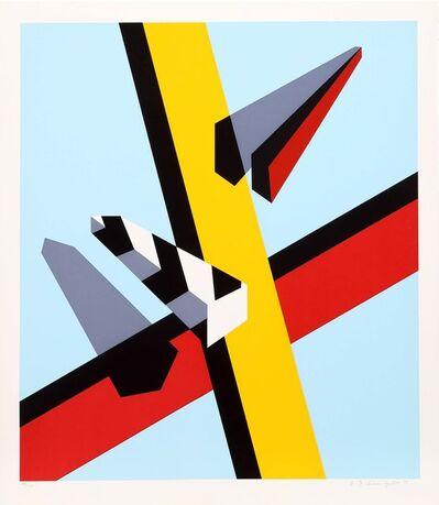 Allan D'Arcangelo, 'Reflection', 1978