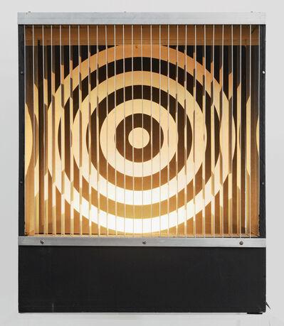 Julio Le Parc, 'Formes virtuelles par déplacement du spectateur - M4 LP', 1966