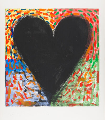 Jim Dine, 'Hand Painting on the Mandala', 1986
