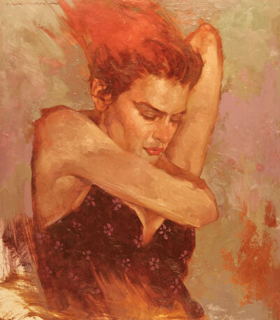 "Joseph Lorusso, '""Flaming Red""', 2019"