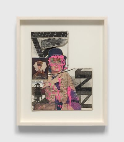 Ray Johnson, 'Untitled (Liza Minnelli with Pink Paint)', n.d.