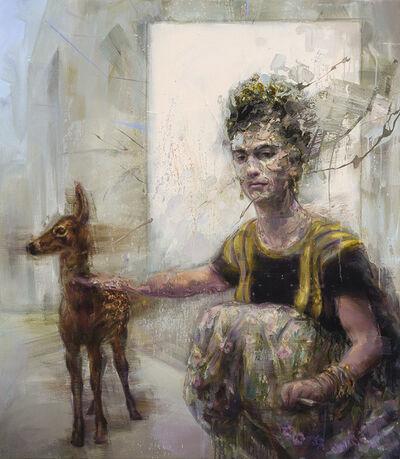 Mathieu Laca, 'Frida and fawn', 2019