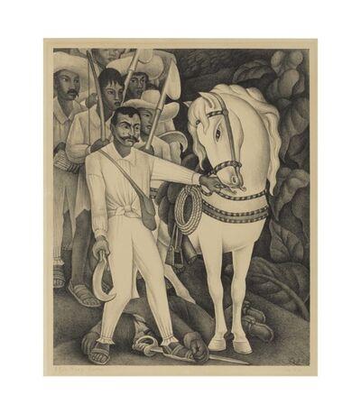 Diego Rivera, 'Emiliano Zapata', 1932