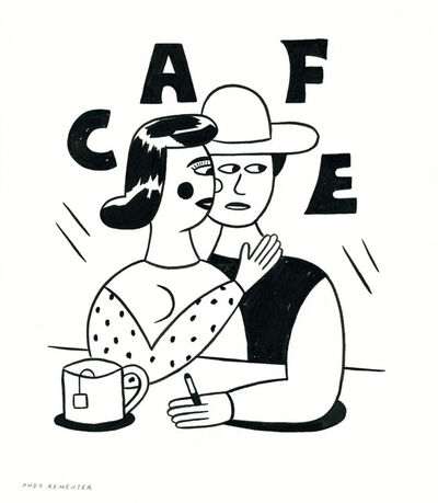 Andy Rementer, 'Cafe', 2014