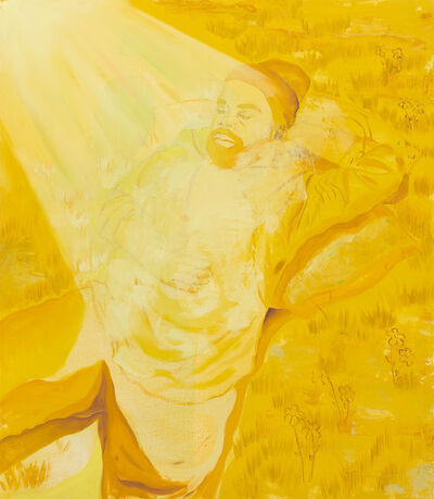 Dominic Chambers, 'Bathing in Yellow', 2019