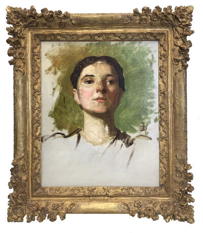 Frank Duveneck, 'Portrait of a Woman'